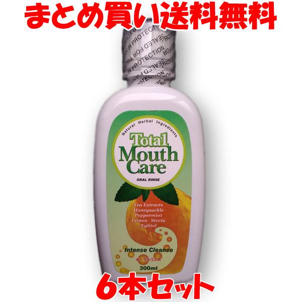 ポイント10倍 マウスウォッシュ 洗口液 トータルマウスケア 口臭予防 歯垢除去 歯石沈着予防 シエン 300ml×6本セットまとめ買い送料無料