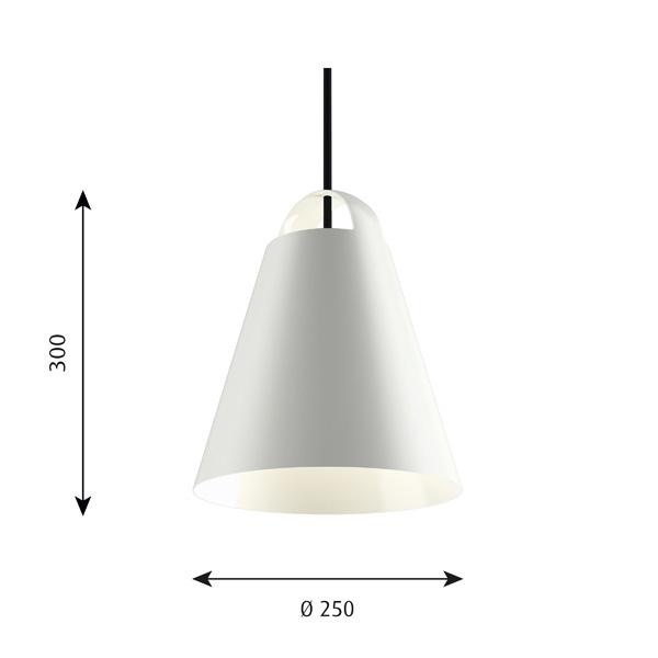 ルイスポールセン「Above(アバーヴ)」ホワイト220φLEDペンダントライト(引掛けシーリング用)(louis poulsen )LED照明●●
