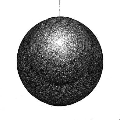 ヤマギワ「321P2909B」ペンダントライトMAYUHANA MA BLACK/(マユハナ ブラック)/(引掛けシーリング用)照明●●