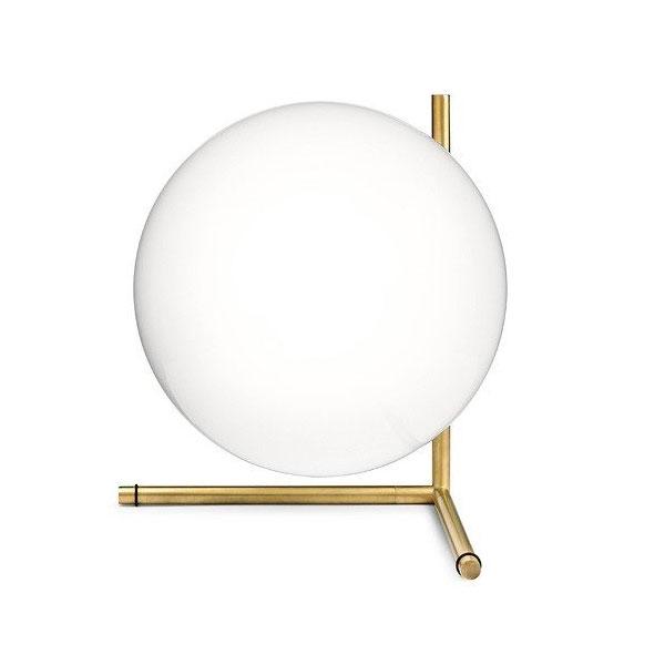 【LED電球モデル】ヤマギワ「756ICLIGHTS/T2/LED/GLD」テーブルスタンドライト/IC LIGHTS T2/フロス(FLOS)/照明●●