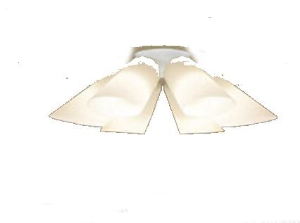 パナソニック「LGB57611K」LEDシャンデリアライト(~12畳用)【電球色】(U-ライト方式 )【要工事】LED照明●●