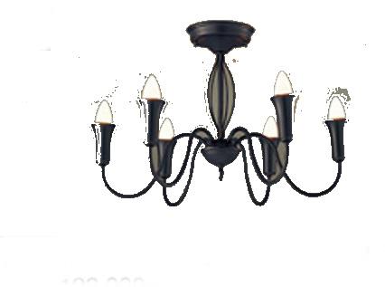 パナソニック「LGB57646」LEDシャンデリアライト【電球色】(U-ライト方式 )【要工事】LED照明●●