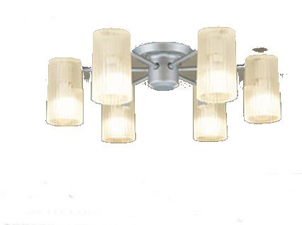 パナソニック「LGB57673K」LEDシャンデリアライト(~12畳用)【電球色】(U-ライト方式 )【要工事】LED照明●●