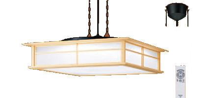 パナソニック「LGBZ6201」和風LEDペンダントライト(~8畳用)【昼光色/電球色/調色】/【調光】(引掛けシーリング用)LED照明●●