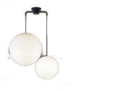 パナソニック「LGB19511BK」LEDシャンデリアライト(~8畳用)【電球色】(U-ライト方式 )【要工事】LED照明●●