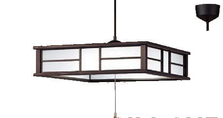 パナソニック「LGB12608LE1」和風LEDペンダントライト(~8畳用)【昼光色】(引掛けシーリング用)LED照明●●