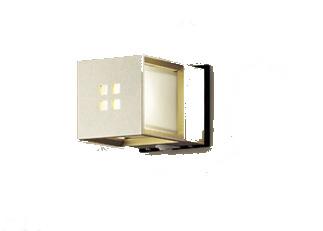 パナソニック「LGWC85040YK」LEDエクステリアライト【電球色】(直付用)【要工事】LED照明●●
