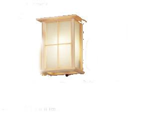 パナソニック「LGWC85084K」和風LEDエクステリアライト【電球色】(直付用)【要工事】LED照明●●