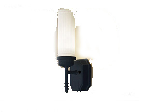 パナソニック「LGWC85204BK」LEDエクステリアライト【電球色】(直付用)【要工事】LED照明●●