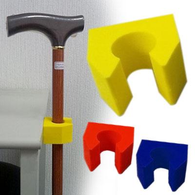 期間限定特価品 簡易型の杖立て 杖かけ 杖立て ぱっくん 杖 ステッキホルダー 杖掛け ついに入荷 杖置き ホルダー