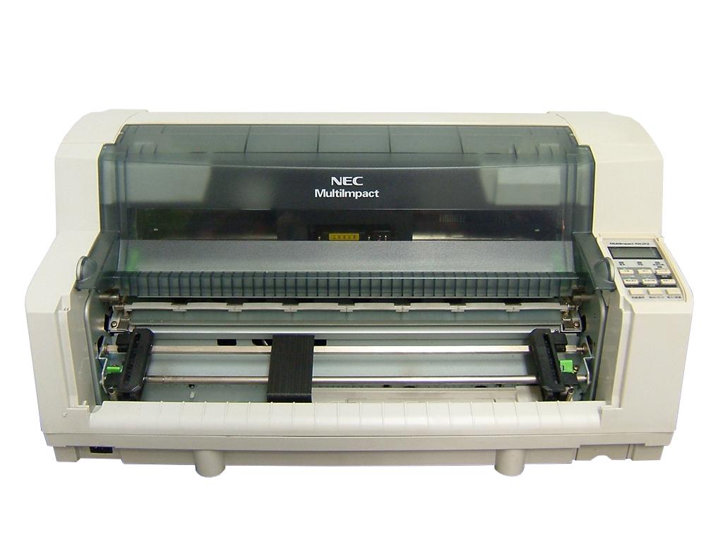 MultiImpact 700JX2 NEC ドットプリンタ 単票用紙ガイド欠品【中古】