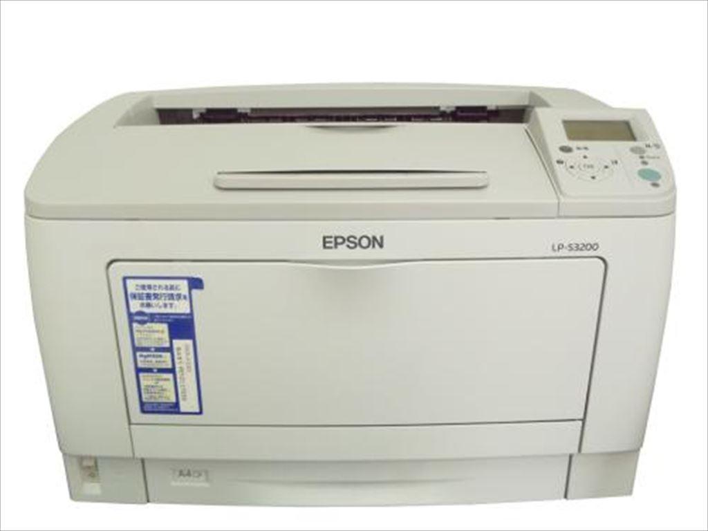 LP-S3200 EPSON A3モノクロレーザープリンタ 2800枚以下【中古】