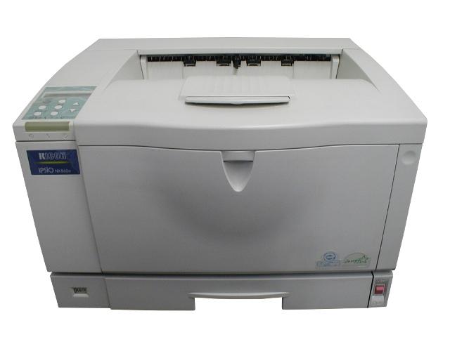 IPSiO NX850 RICOH A3モノクロレーザープリンタ 黄ばみあり【中古】