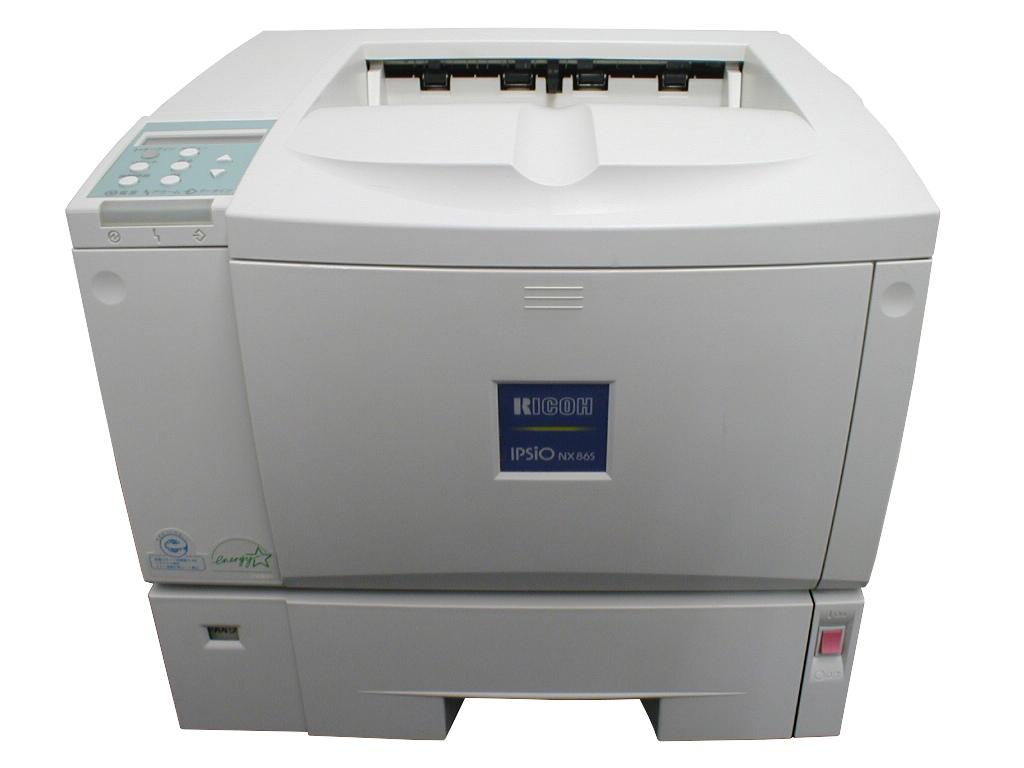 IPSIO NX86S RICOH USB/Lan/A4レーザープリンタ【中古】