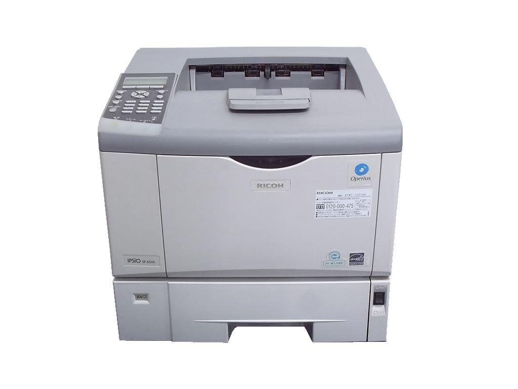 IPSiO SP4300 RICOH A4モノクロレーザープリンタ 15.3万枚【中古】