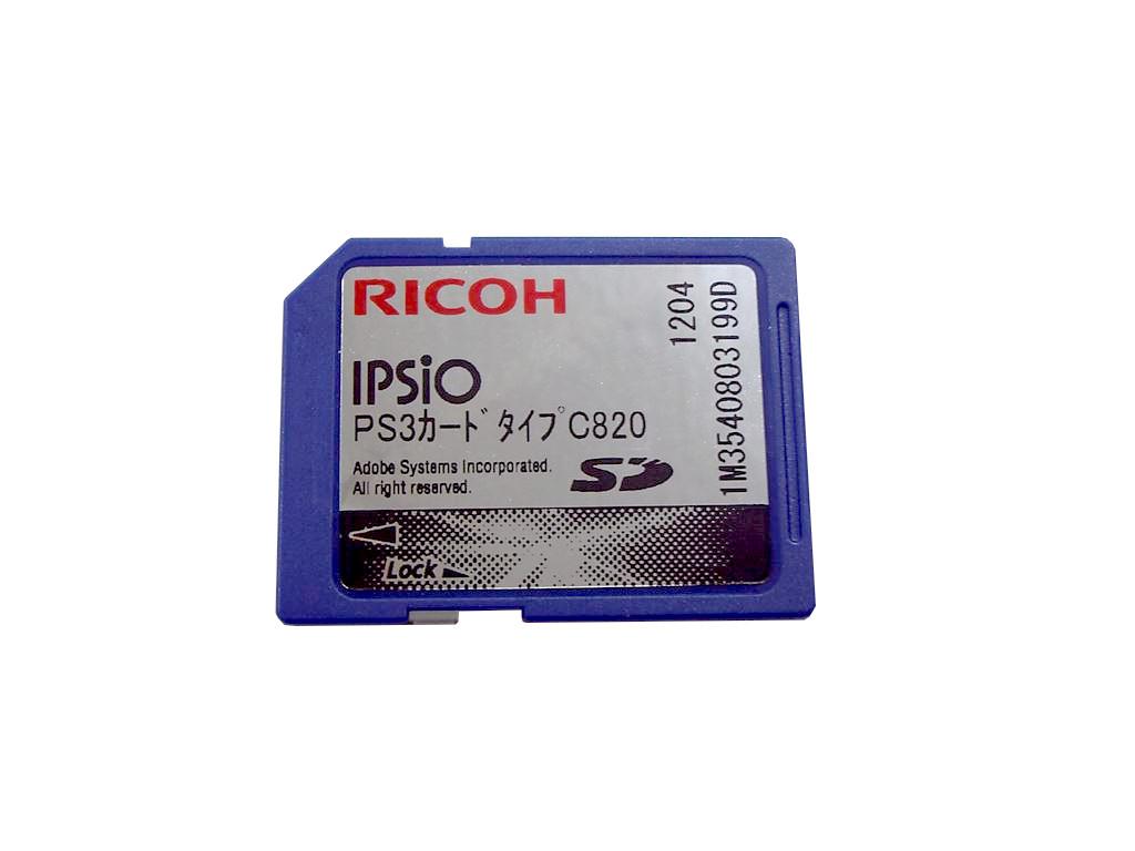 RICOH C820M、SP C820、SP IPSiO RICOH PS3カード タイプC820 515573 SP C820、SP C820M、SP C821、SP C821M用【中古】, マーキュリーストアー:8b668384 --- officewill.xsrv.jp
