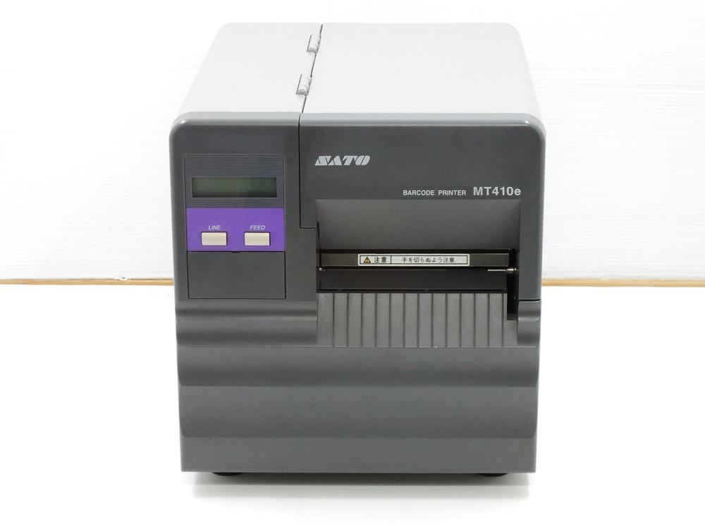 SATO MT410e バーコードラベルプリンタ カッター付【中古】