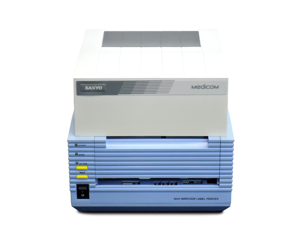 SANYO MC-P4804LBK Medicom バーコードラベルプリンタ【中古】 サンヨー メディコム