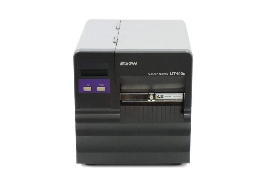 SATO MT400e バーコードラベルプリンタ カッター付 【中古】LAN搭載