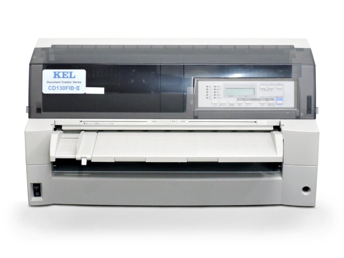 KEL CD130FIB-II ドットインパクトプリンタ 【中古】