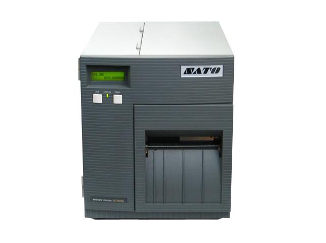 SATO MR400e-3 バーコードラベルプリンタ・カッター付 【中古】