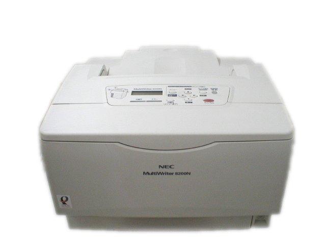 MultiWriter 8200N NEC A3モノクロレーザープリンタ 66000枚以下【中古】