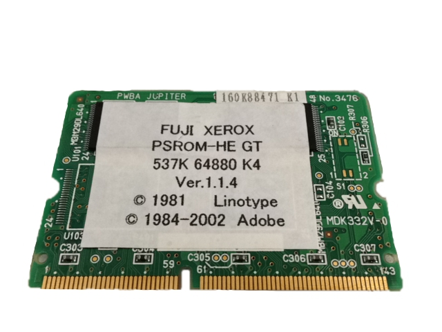 EL300246 FUJI XEROX PostScriptソフトウェアキット DocuPrint C2426 / 2425【中古】