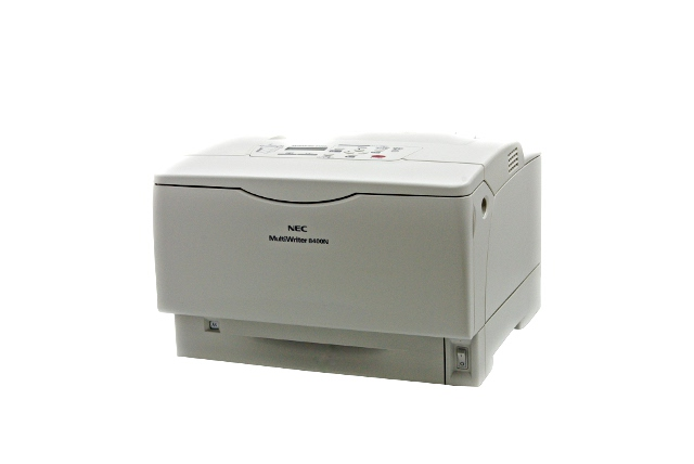 MultiWriter 8400N NEC A3モノクロレーザープリンタ 【中古】