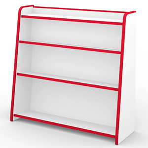 国産の子供用家具♪ 本棚(ほんだな) ワイド [完成品]【送料無料】【 02P27May16】