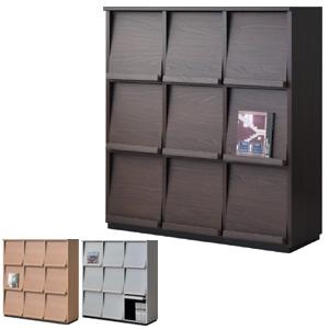 Wal-fit cabinet style WF-1212DP(ウォルフィット キャビネットスタイル 3段3列) 【送料無料】(組み合わせ家具 日本製 国産 タカシン家具工業)【 10P27May16 】