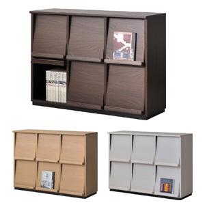 Wal-fit cabinet style WF-8012DP(ウォルフィット キャビネットスタイル 2段3列) 【送料無料】(組み合わせ家具 日本製 国産 タカシン家具工業)