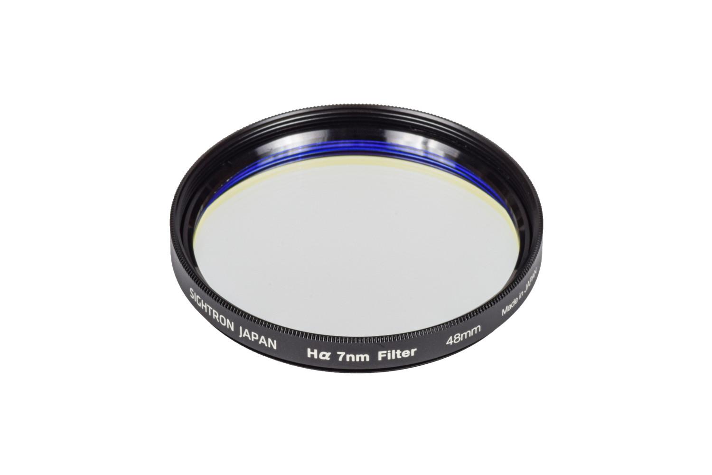 【日本製】サイトロン「 Hαフィルター 7nm」48mm ナローバンドフィルター 半値幅7nm 天体撮影のための特殊フィルター 合成石英ガラス使用