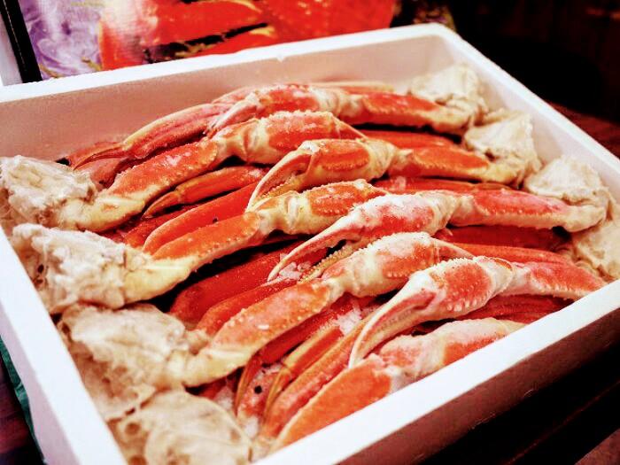 【送料無料】ロシア産 ボイルずわい蟹 ズワイガニ カニ 肩 2kg 【4L 6~7肩前後】【年末配送】