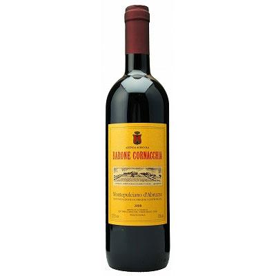 【ラッキーシール対応】母の日 ギフト モンテプルチアーノ・ダブルッツォ バローネ・コルナッキア 赤 750ml 12本 イタリア アブルッツオ 赤ワイン 送料無料 コンビニ受取対応商品 ヴィンテージ管理しておりません、変わる場合があります
