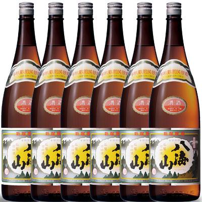 父の日 プレゼント ギフト 八海山 はっかいさん 普通酒 1800ml 6本 新潟県 八海山 日本酒 コンビニ受取対応商品 はこぽす対応商品 ケース販売 送料無料 ラッキーシール対応