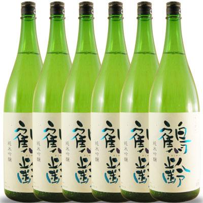 【ラッキーシール対応】母の日 ギフト 鶴齢(かくれい) 純米吟醸 一升瓶6本1800ml×6 新潟県 青木酒造 日本酒 ケース販売 送料無料