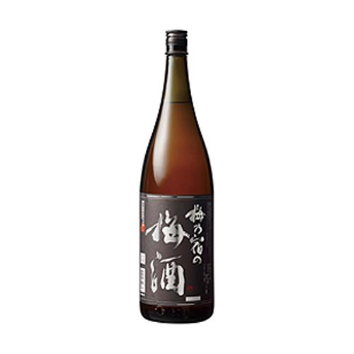 父の日 プレゼント ギフト 梅乃宿の梅酒 黒ラベル 1.8L 6本 奈良県 梅乃宿酒造 リキュール ケース販売 送料無料 ラッキーシール対応
