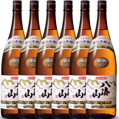 【ラッキーシール対応】お歳暮 ギフト 八海山 はっかいさん 特別本醸造 1800ml×6 一升瓶 6本 新潟県 八海山 日本酒 ケース販売 送料無料