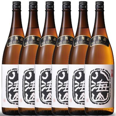 【ラッキーシール対応】お歳暮 ギフト 八海山 はっかいさん 吟醸 1800ml×6 一升瓶6本 新潟県 八海山 日本酒 ケース販売 送料無料