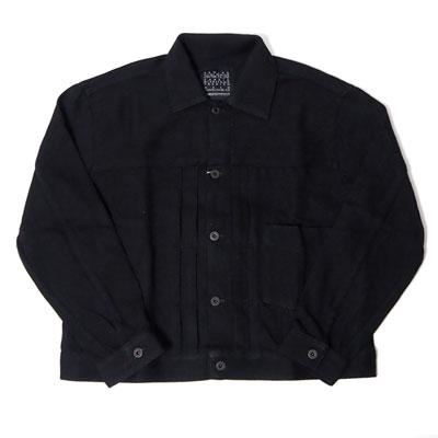 KURO/クロ/962878/LOOSE DENIM JACKET BLACK