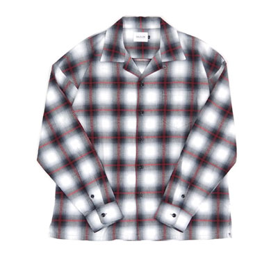 CAL O LINE/キャロライン/CL192-029/PLAID OMBRE SHIRT