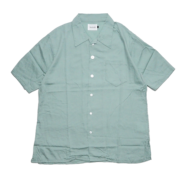 CAL O LINE/キャロライン/CL201-044/OPEN COLLAR S/S SHIRT