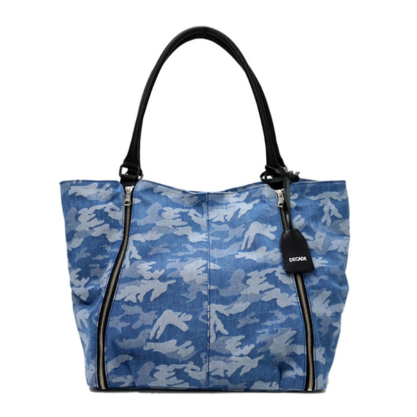 【DECADE:ディケイド】DCD-00970CAMO JQ DENIM TOTE BAG【smtb-TK】