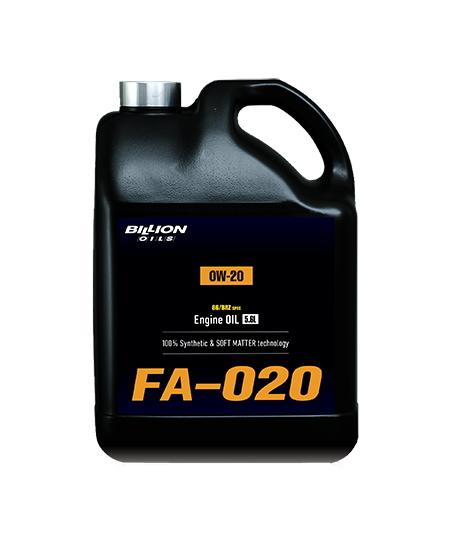 ビリオン オイルズ BILLION OILS 86/BRZ 専用 エンジンオイル FA-020 (0W-20) 5.6L