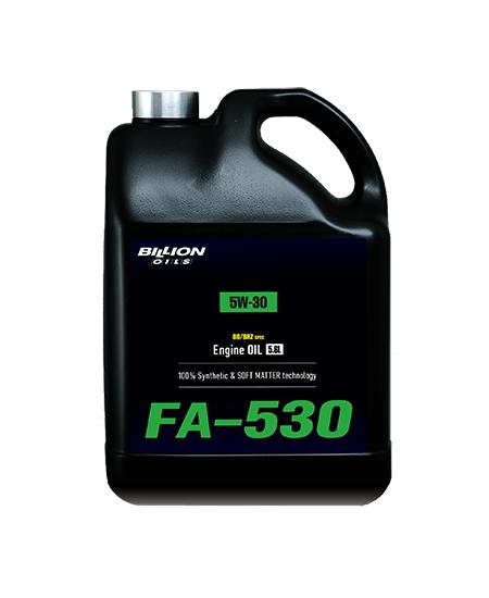 ビリオン オイルズ BILLION OILS 86/BRZ 専用 エンジンオイル FA-530 (5W-30) 5.6L