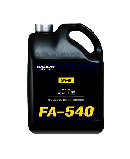 ビリオン オイルズ BILLION OILS 86/BRZ 専用 エンジンオイル FA-540 (5W-40) 5.6L
