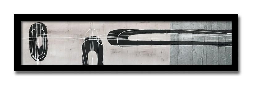 絵画 抽象 モダンアート Jeremy Cangialosi Retro1 壁掛け インテリア 絵 アート ポスター 北欧 壁飾り 玄関 リビング 飾る 額付き