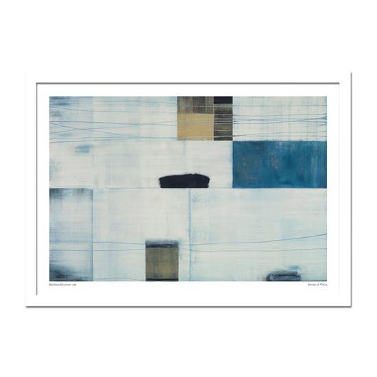 絵画 抽象 モダンアート Barbara Bouman Jay Sense of Place 壁掛け インテリア 絵 アート ポスター 北欧 壁飾り 玄関 リビング 飾る 額付き