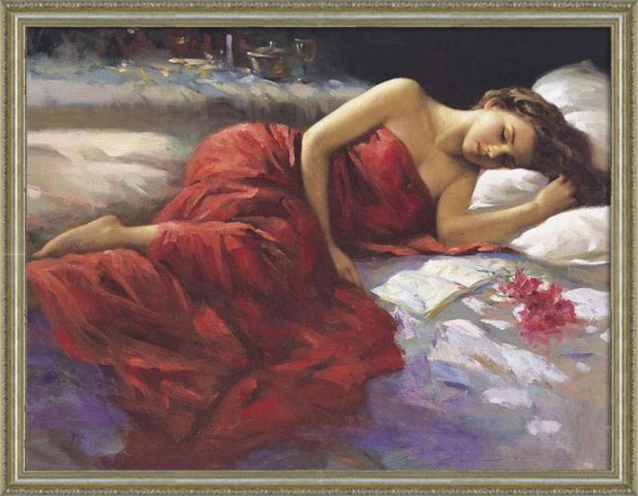 【艶美な油彩画 女性美を堪能する絵画】30号サイズ/国産額付き/[裸婦画][裸婦]絵画 油彩 人物画・個室やVIPルームなど特別な空間の演出。ラウンジ・クラブなどの業務用ディスプレイに。