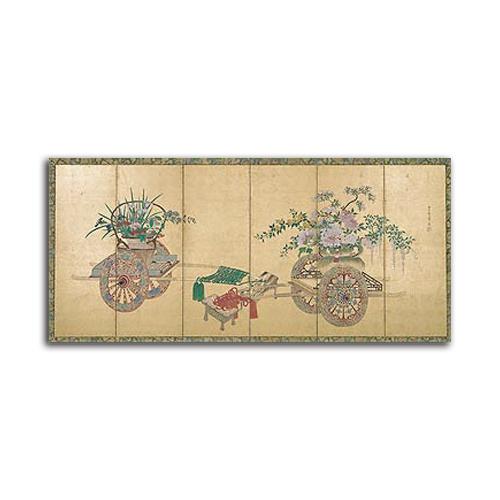 Japanese Screen I SIZE:1000*460mm ココユーロ リュクスインテリアアートシリーズアート 壁掛け 絵画 インテリア【市場限定】 正規品